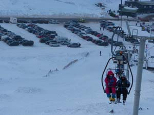 Glenshee chair lift