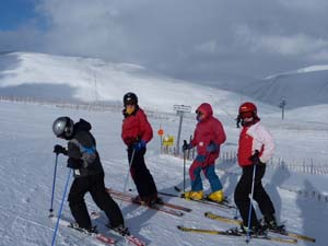 skiing holiday in Scotland